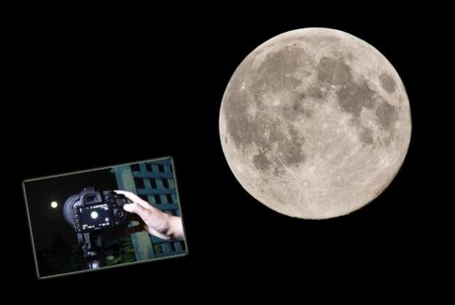luna i foto