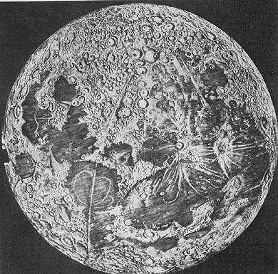 Луна Кассини 1680 год